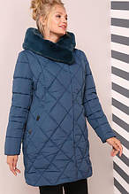 Красивая теплая куртка на зиму Валенсия
