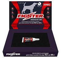 Капли Файтер плюс 12% для собак весом от 10,1 до 20 кг (аналог Фронтлайн)