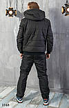 Костюм мужской теплый зимний на синтепоне найк,размеры: 48,50,52,54, фото 5