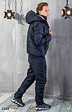 Костюм мужской теплый зимний на синтепоне найк,размеры: 48,50,52,54, фото 6