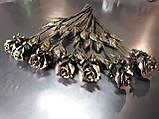 Кованые розы, цветы металлические, фото 2