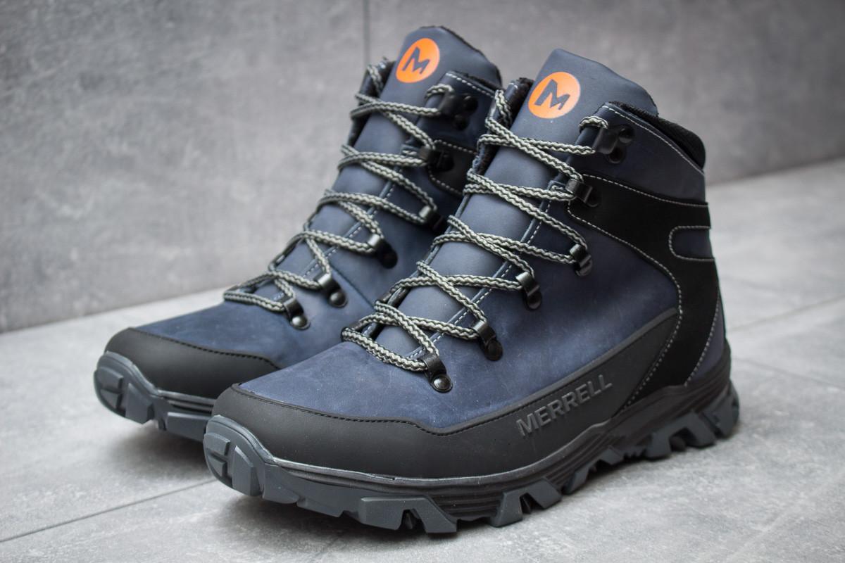 Зимние ботинки  Merrell Shiver, темно-синие (30341) размеры в наличии ► [  41 (последняя пара)  ]