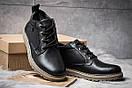 Зимние ботинки  на мехуTimberland, черные (30591) размеры в наличии ► [  42 43  ], фото 3