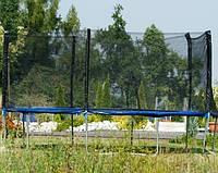 Детский большой батут  FUNFIT 465 см с сеткой и лесенкой