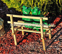 Садовая фигура Жабы на скамейке малые, фото 3