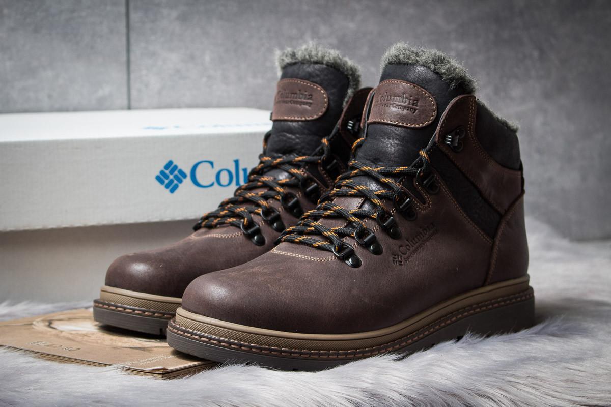 Зимние ботинки на меху Columbia Chinook Boot WP, коричневые (30571),  [  40 41 42 43 44 45  ]
