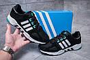 Кроссовки мужские Adidas EQT Support 93, черные (11651) размеры в наличии ► [  44 45  ], фото 2