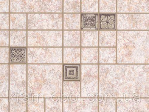 Обои Славянские Обои КФТБ простые бумажные моющиеся 10 м*0,53 9В56 Мозаика 6529-02