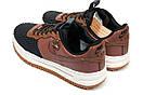 Кроссовки мужские Nike  LF1, коричневые (11753) размеры в наличии ► [  41 (последняя пара)  ], фото 8