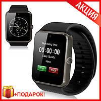 Купить Smart Watch GT 08 Black Умные часы - аналог Apple IWatch Черные
