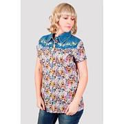 Блуза женская с джинсом