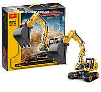 """Конструктор Decool 3359 """"Экскаватор"""" 286 детали. Аналог Lego Technic 8047"""