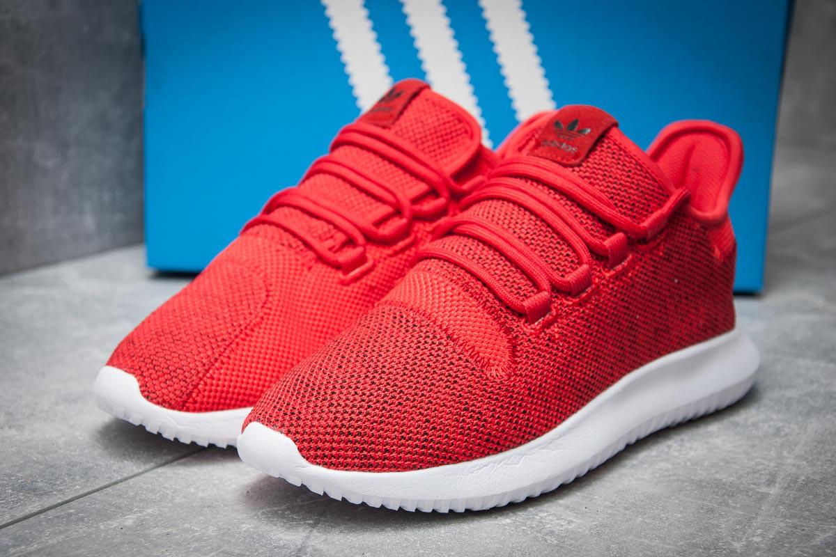 Кроссовки мужские Adidas  Tubular Shadow Knit, красные (11831) размеры в наличии ► [  45 (последняя пара)  ]