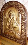 """Иконы резные из дерева. Икона Божией Матери  """"Умиление"""", фото 4"""