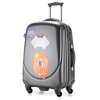 Ударопрочный средний чемодан Ambassador Classic A8503 Графитовый