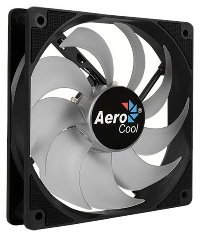 Вентилятор Aerocool Motion 12 Plus White LED 120мм, 3-pin, 4-pin