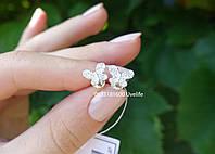 Серебряные гвоздики на закрутке Бабочки, фото 1