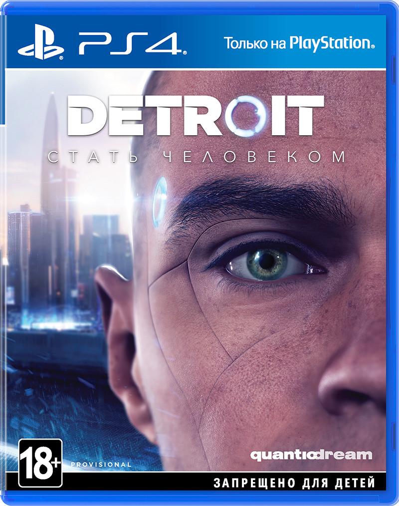 Игра PS4 Detroit: Become Human для PlayStation 4