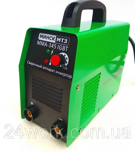 Инверторный сварочный аппарат Минск ММА-345