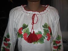 Вышиванка женская калина, фото 3