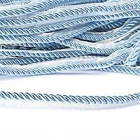Кант-шнур вшивной 9мм тесьма 15мм голубой (60502.001-)