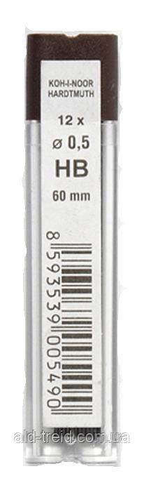 Стержни для механического карандаша KIN 0,5 HB