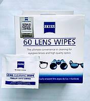 Влажные салфетки для объектива Zeiss (для фотоаппаратуры), 60шт