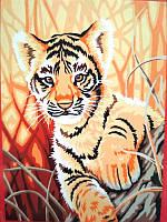 Е091 Картина по номерах 30*40см  Вінтажний натюрморт