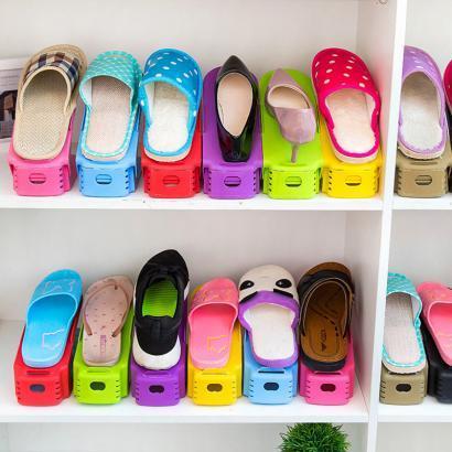 Двойная подставка для обуви (набор 10 шт)