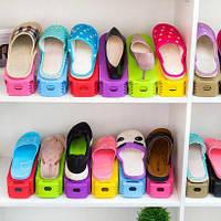 Двойная подставка для обуви (набор 10 шт), фото 1
