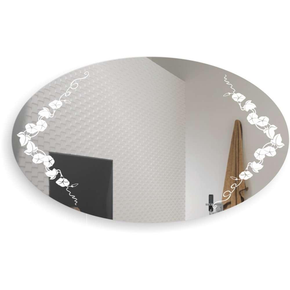 Дзеркало овальне у ванну кімнату В'юнок БЦ-Стол