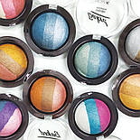 Запеченные тени для глаз NICKA K Baked Terracotta Eyeshadow, фото 3