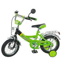 Детский двухколесный велосипед 14 ДЮЙМОВ ПРОФИ, фото 1