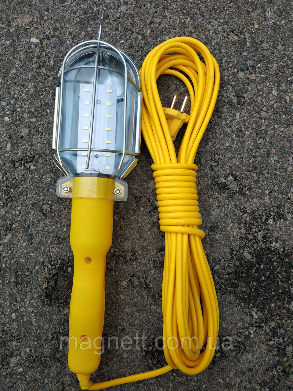 Лампа переносная светодиодная PR-220-10 220В (шнур 10м) 14 led
