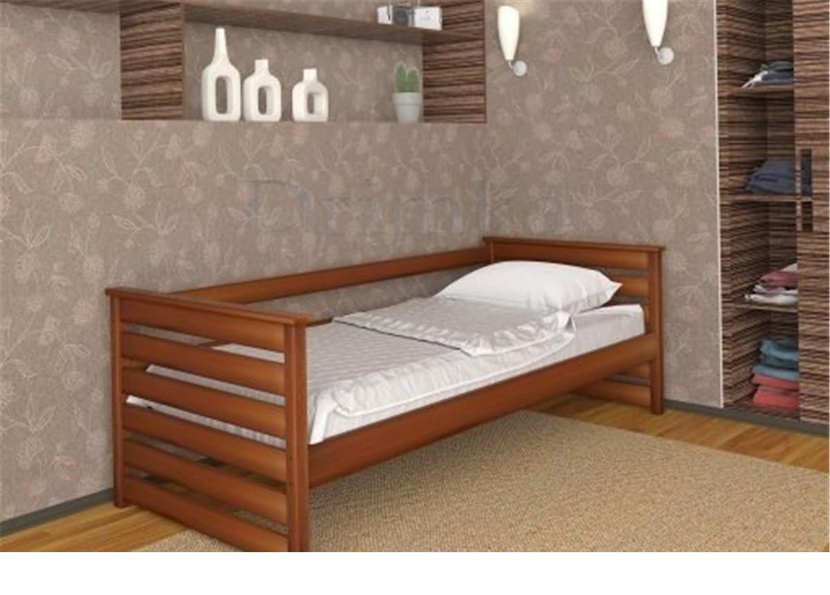 Ліжко дитяче з натурального дерева Телесик Дрімка