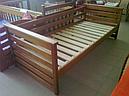 Ліжко дитяче з натурального дерева Телесик Дрімка, фото 4