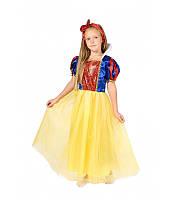 ba9b8686791 Детский карнавальный костюм БЕЛОСНЕЖКА для девочки 4