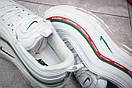 Кроссовки женские Nike  Air Max 97, белые (12431) размеры в наличии ► [  40 (последняя пара)  ], фото 6