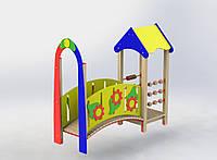 """Ігровий комплекс """"Місток з будиночком"""" MIDEKO"""