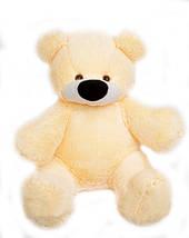 Мягкая игрушка мишка Бублик персиковый 77 см, фото 3