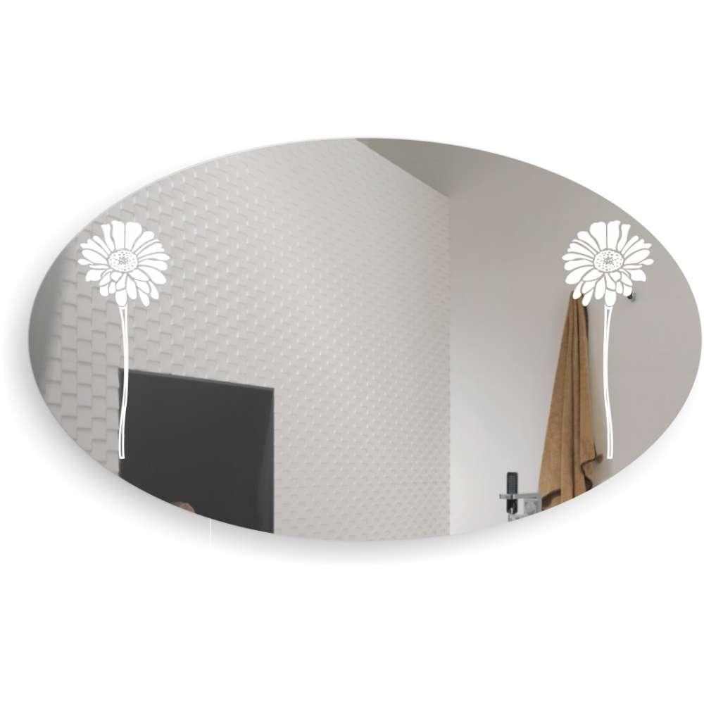 Дзеркало овальне у ванну кімнату Георгени БЦ-Стол