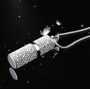 Флешка Сваровски FS1 (32gb) + цепочка и коробочка в подарок!