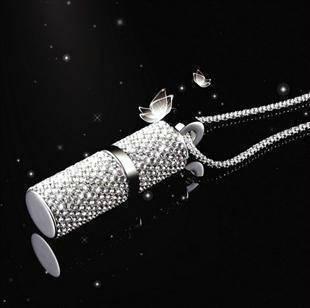 Флешка Сваровски FS1 (32gb) + цепочка и коробочка в подарок!, фото 2