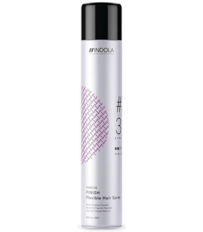 Indola Finish Flexible Spray спрей для волос эластичной фиксации, 500 мл