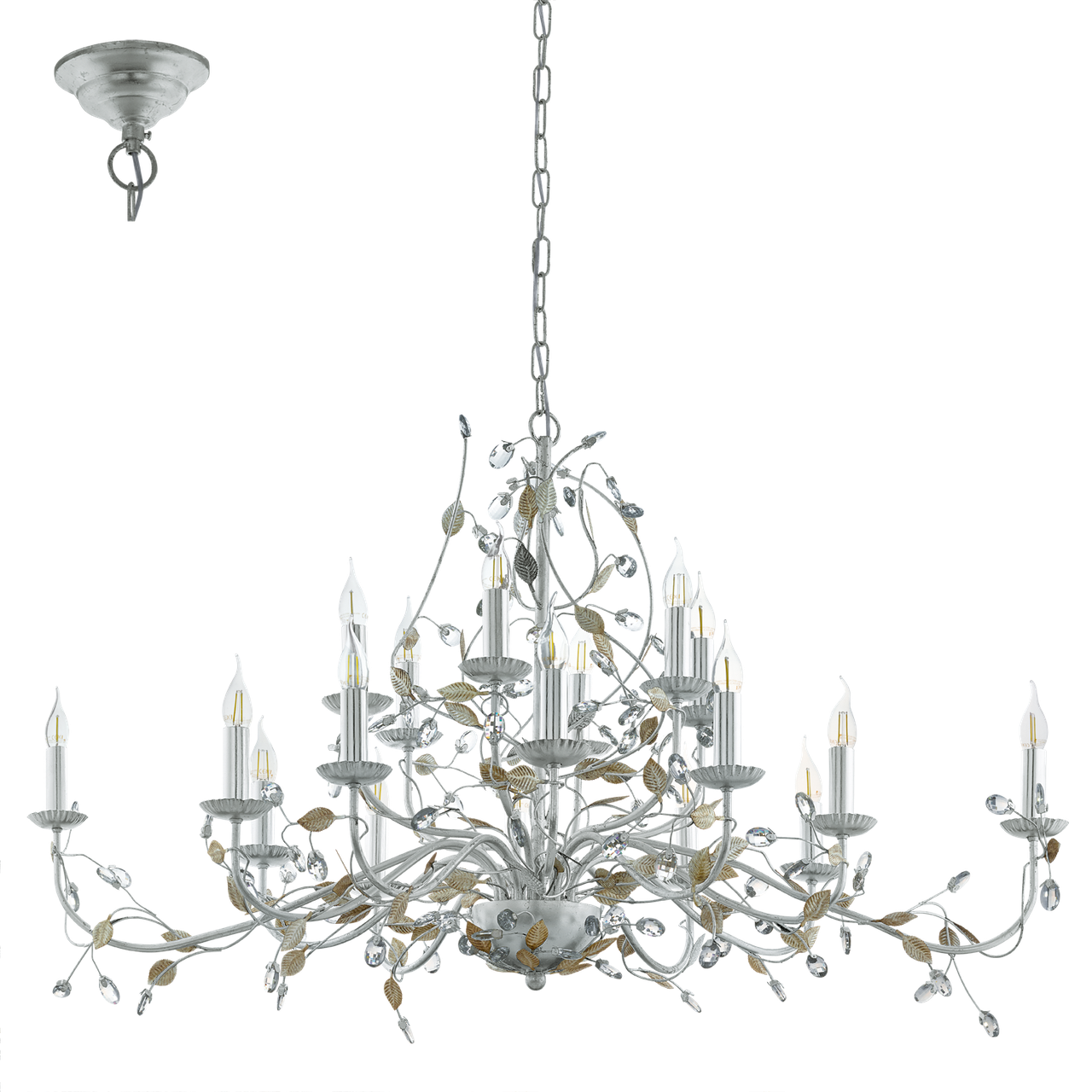 Люстра-свечи «Роща» EGLO 49828 FLITWICK 1