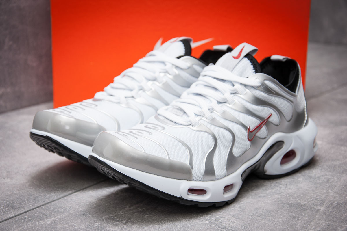 Кроссовки мужские Nike Air Tn, серебряные (12974) размеры в наличии ► [  43 (последняя пара)  ]