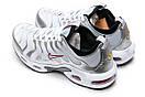 Кроссовки мужские Nike Air Tn, серебряные (12974) размеры в наличии ► [  43 (последняя пара)  ], фото 8