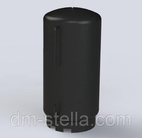 Буферная емкость (теплоаккумулятор) 2600 литров, Ø 1200 мм, сталь 3 мм, фото 2