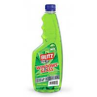 """Засіб для миття скла """"BLITZ crystal"""" запаска, зелений 750 г"""