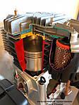 Производительность компрессора на выходе